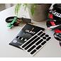 GLINT Reflective GLINT Reflective Helmet Stickers - Black