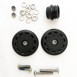 Brompton Eazy Wheel Rollers Kit - 6mm