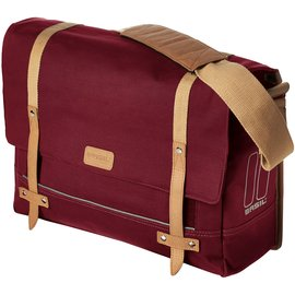 Basil Portland Messenger Bag - Dark Red