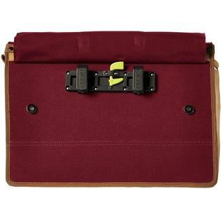 Basil Basil Portland Messenger Bag - Dark Red