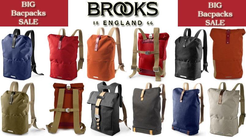 Brooks Backpacks SALE