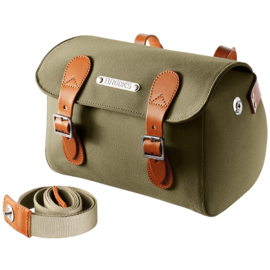 Brooks Millbrook Holdall - Small - Green/Honey