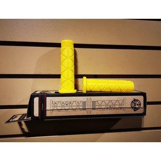 BREV. M Triangolo Grips - No Flange - Yellow