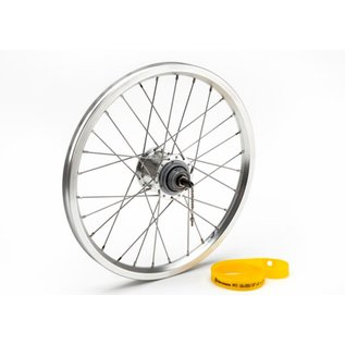 Brompton Rear wheel, 3 spd with Sturmey hub and stainless steel spokes