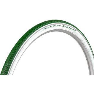 """Schwalbe Schwalbe Century HS458 - 28 x 1.40"""" - Green/White"""
