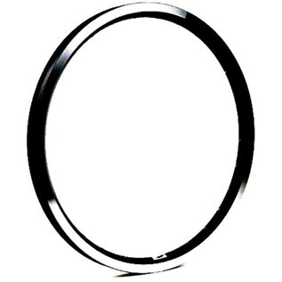 "Brompton Brompton 16 x 1 3/8"" wheel rim (ETRTO 349), 28H - Angle Drilled - Black"
