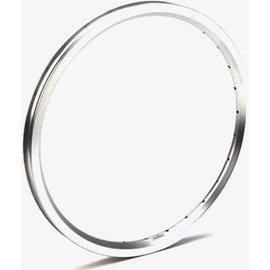 "Brompton 16 x 1 3/8"" wheel rim (ETRTO 349), 28H - Angle Drilled - Silver"