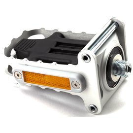 Brompton Folding Left-hand Pedal - Silver