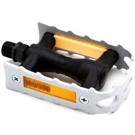 Brompton Non-folding, Right-hand pedal, aluminium cage - Silver