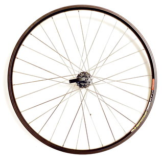 Asama 700c Front Wheel QR  Disc 6 bolt - Black/Silver