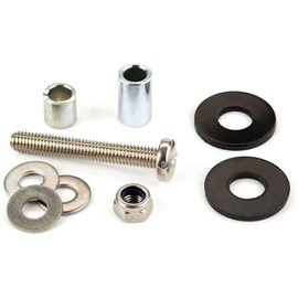 Brompton FIXINGS for Rear Rack Roller and shock cord , not Eazy Wheel