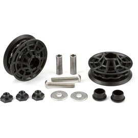 Brompton Derailleur chain tensioner idler (jockey wheel) /bearing/ fixings set, pair