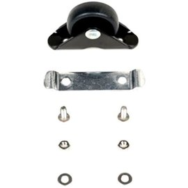 Brompton MUDGUARD ROLLER assembly and screws, for L version - Black/Black