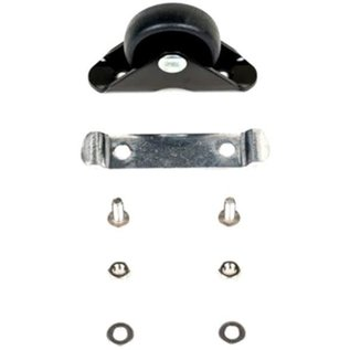 Brompton Brompton MUDGUARD ROLLER assembly and screws, for L version - Black/Black