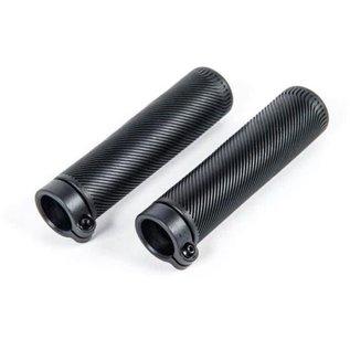 Brompton Brompton Grips, Lock-On, 130mm (pair) - Black
