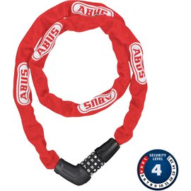 Abus Steel-O-Chain 5805C - 75cm, Red