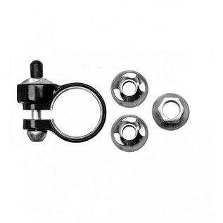 Pinhead Pinhead Axle Locknuts 3-pack - 9mm/10mm Solid Axle  - Front/Rear/Seat - 3 locknuts