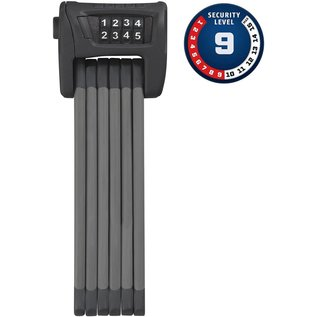 Abus Abus Bordo 6100 Combo Lock - Black 90cm - SH Bracket