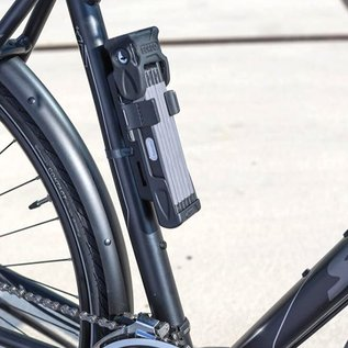 Abus Abus Bordo 6000 Key Lock - Black 90cm - SH Bracket
