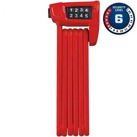 Abus Bordo 6150 Combo Lite - Red 85cm