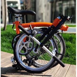 Brompton 2020 Brompton S3E - Standard SP - Orange/ Black