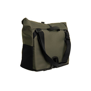 Brompton Brompton Borough Bag M, Olive, with frame
