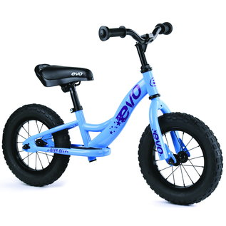 Evo EVO Beep Beep Push Bike, 12-1/2'', Mo Better Blue