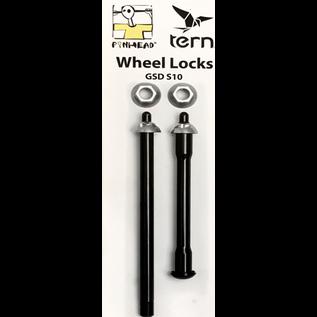 Pinhead Pinhead Wheel Lock Set for Tern GSD S10