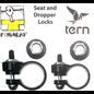 Pinhead Pinhead - Seatpost Clamp Lockset - GSD/HSD