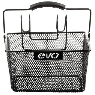 Evo Evo E-Cargo Lift Off Mesh front basket Black