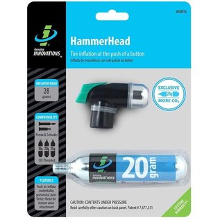 Genuine Innovations Hammerhead Push Button Mini - Black