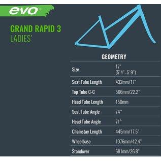 Evo EVO Grand Rapid 3 ST - Dew Lily Green