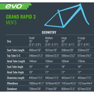 Evo EVO Grand Rapid 3 - Twilight Grey