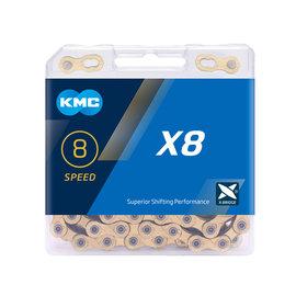 KMC X8 - 8 Speeds - Silver/Grey