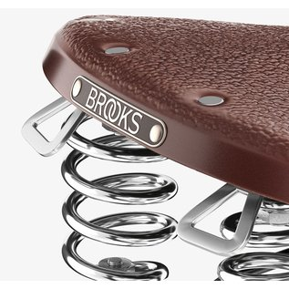Brooks Brooks B67 Men's - Antique Brown - Black Steel - Chrm. Springs
