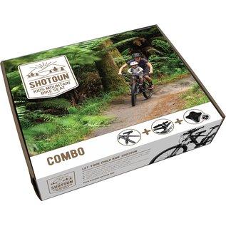 Shotgun Shotgun MTB Child Bike Seat + Handlebar Combo
