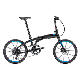 Tern Verge X11 - Black/Blue/Magenta
