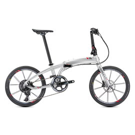 Tern Verge X11 - Chrome/Gunmetal/Red