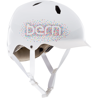 Bern Bern - Bandito MIPS - Gloss White (Confetti Logo)