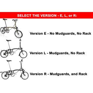 Brompton Build Your Own Brompton Bicycle - Premium Finish