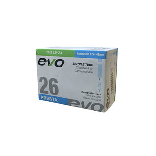 """Evo EVO - 26x2.00-2.40"""" - Presta - Removable Valve Core (48mm)"""