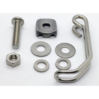 Brompton Brompton Wire form bracket and fittings for HALOGEN front dynamo lamp