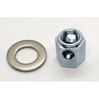 Brompton Brompton Chain tensioner nut for SA 3-spd Sturmey - steel shell