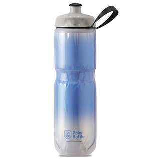 Polar Bottle Polar Sport Insulated Water Bottle - 710ml / 24oz, Royal Blue/Silver
