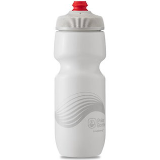 Polar Bottle Polar Breakaway 20oz / 591ml Water Bottle - Ivory/Silver