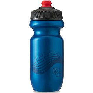 Polar Bottle Polar Breakaway 20oz / 591ml Water Bottle - Deep Blue/Charcoal