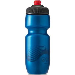 Polar Bottle Polar Breakaway 24oz / 710ml Water Bottle - Deep Blue/Charcoal