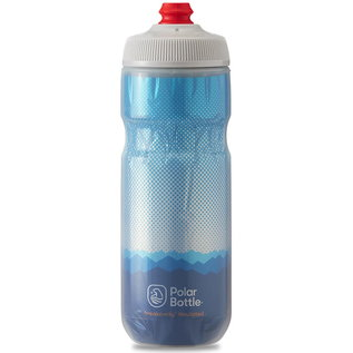 Polar Bottle Polar Breakaway Insulated 20oz / 591ml Water Bottle - Cobalt Blue/Silver