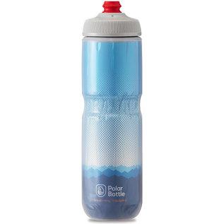Polar Bottle Polar Breakaway Insulated 24oz / 710ml Water Bottle - Cobalt Blue/Silver