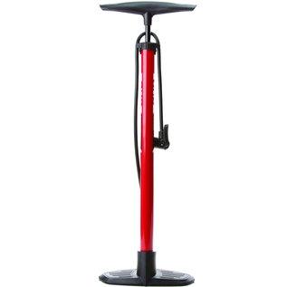 Evo Evo AirPress Floor Pump, Double head, 120psi, Red